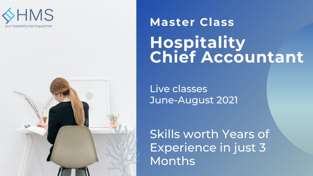 hotel chief accountant, master class